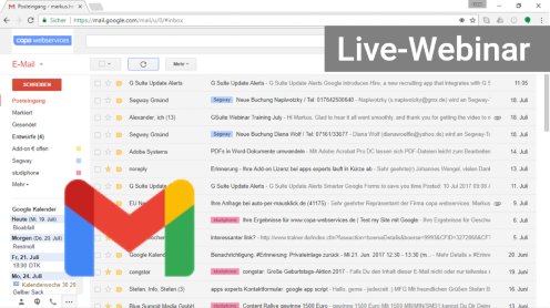 G Suite Gmail Webinar