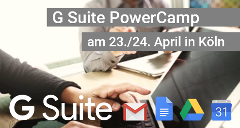 G Suite PowerCamp 2018 in Köln