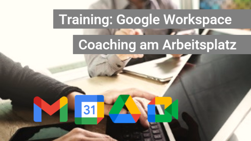 G Suite Coaching am Arbeitsplatz - Walking Teacher