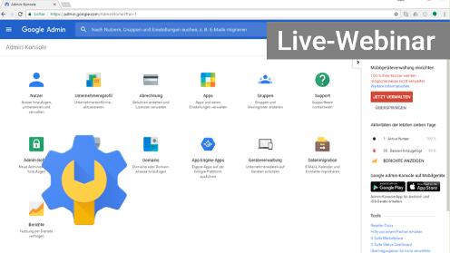 Google Admin Schulung - Webinar