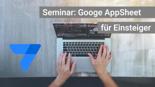 G Suite App Maker für Seminar, Kurs, Schulung