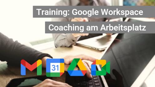 G Suite Coaching am Arbeitsplatz - Walking Teacher